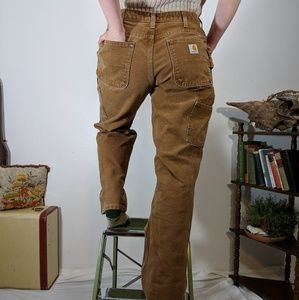 Carhartt high rise double knee pants